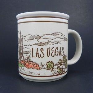 Vintage| Las Vegas Desert Cactus Mug Otagiri Style